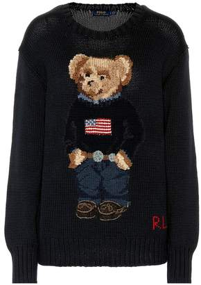 Polo Ralph Lauren Embroidered cotton sweater