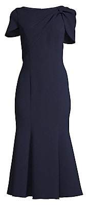 Shoshanna Women's Bess Caped-Sleeve Dress