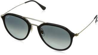 Ray-Ban Injected Unisex Aviator Sunglasses