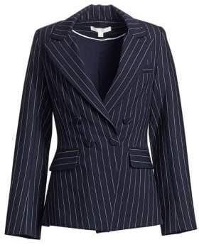 Jonathan Simkhai Pinstripe Tailor-Fit Blazer