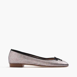 Kiki glitter ballet flats $168 thestylecure.com
