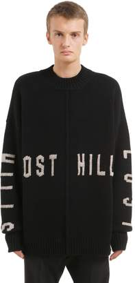 Yeezy Lost Hills Intarsia Wool Sweater