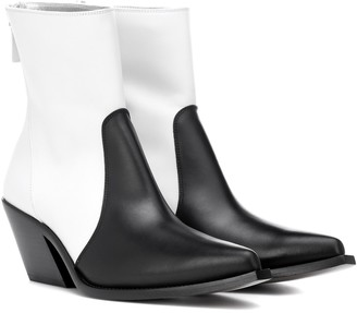 Givenchy Leather cowboy boots
