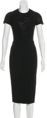 Victoria Beckham Midi Sheath Dress