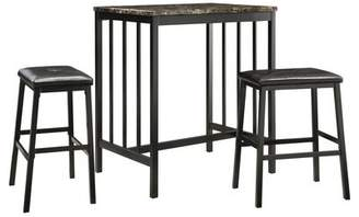 Charlton Home Anette 3 Piece Counter Height Dining Set Charlton Home