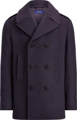Ralph Lauren Polo Wool-Bend-Melton Peacoat