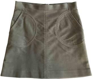 Clements Ribeiro Grey Cotton Skirt for Women