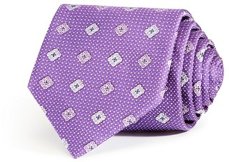 The Men's Store at Bloomingdale's Pindot Ground Medium Medallion Classic Tie $59 thestylecure.com