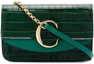 Chloé C Chain clutch