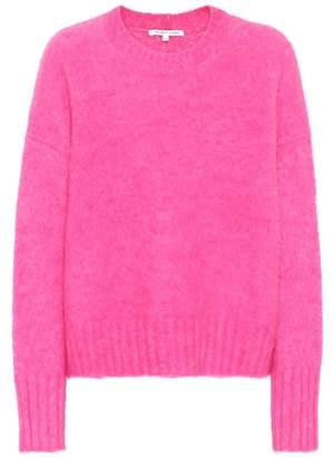 Helmut Lang Wool and alpaca-blend sweater