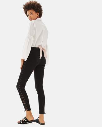 PETITE Lace-Up Jamie Jeans