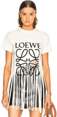 Loewe Fringe T Shirt