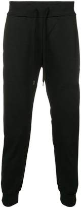 Attachment drawstring waist tapered trousers