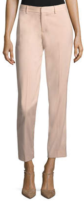 Ralph Lauren Thompson Straight-Leg Wool Pants