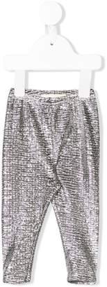 Douuod Kids metallic slim trousers