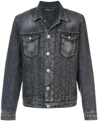 Philipp Plein Studded denim jacket