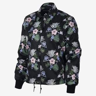 Converse Palm Print Coaches Women's Jacket
