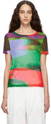 Issey Miyake Multicolor Splash T-Shirt