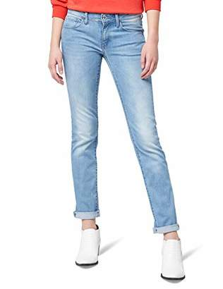 G Star Women's 3301 Deconstructed Mid Waist Straight Jeans