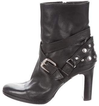 Sonia Rykiel Leather Ankle Boots