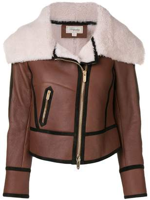 Temperley London Eileen aviator jacket