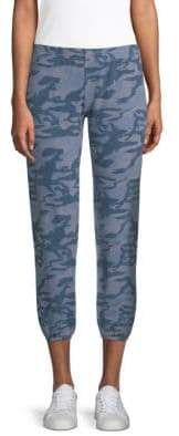 Monrow Supersoft Camo Joggers