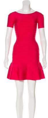 Herve Leger Liza Bandage Dress w/ Tags Fuchsia Liza Bandage Dress w/ Tags