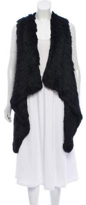 Jocelyn Fur Knit Vest