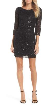Pisarro Nights Embellished Cocktail Dress