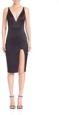 ABS By Allen SchwartzABS Cutout Body-Con Dress