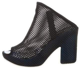 Balenciaga Perforated Platform Sandals