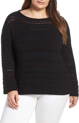 Caslon Open Stitch Sweater