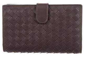 Bottega Veneta Intrecciato Vertical Wallet w/ Tags