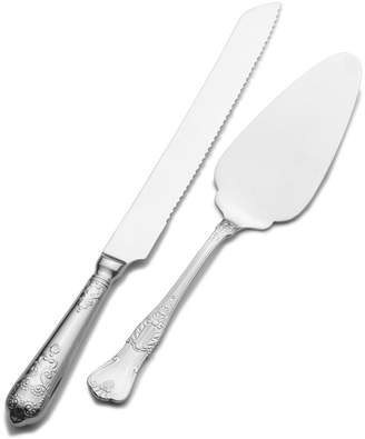 Wallace Hotel Cake Knife and Server Set
