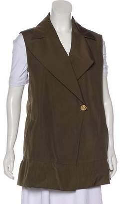 Gucci Notch-Lapel Silk-Blend Vest