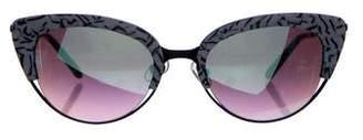 Cat Eye Krewe Josephine Cat-Eye Sunglasses