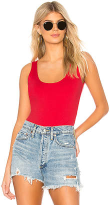 David Lerner Super Scoop Tank Bodysuit