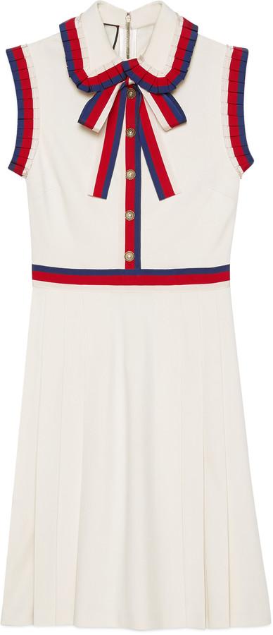 Viscose jersey sleeveless dress