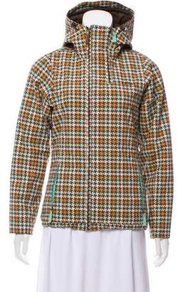 Burton Houndstooth Hooded Jacket
