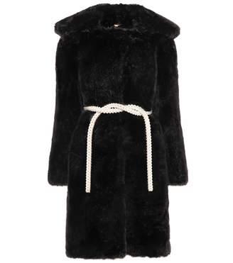 Shrimps Marilyn faux-fur coat