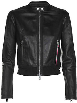 Diesel L-Lyssa-C Leather Jacket