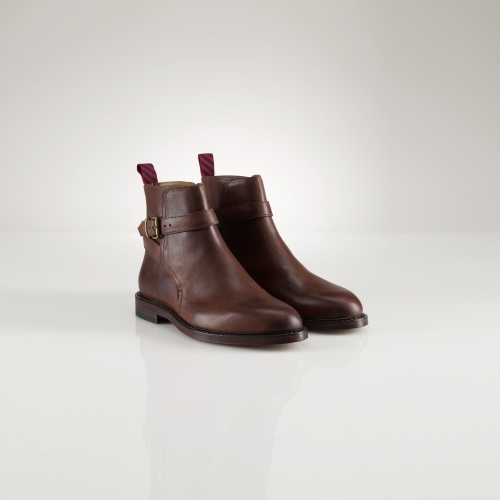 Polo Ralph Lauren Newent Burnished Leather Boot