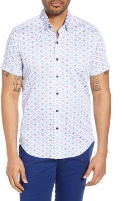 Robert Graham Hat Trick Tailored Fit Shirt