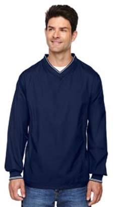 Ash City - North End Adult V-Neck Unlined Wind Shirt - CLASSIC NAVY 849 - L 88132