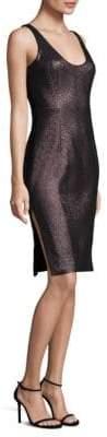 Milly Stretch Lurex Cora Sheath Dress