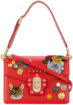Dolce & Gabbana Lucia Zambia cat shoulder bag