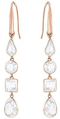 Swarovski Women Gold Plated Dangle & Drop Earrings - 5395236