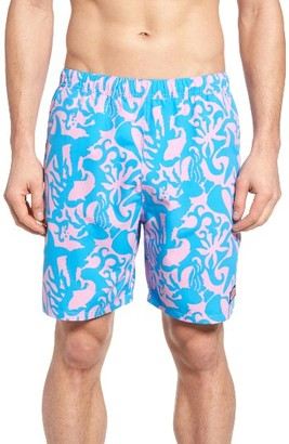Men's Vineyard Vines Under The Sea Bungalow Swim Trunks $89.50 thestylecure.com