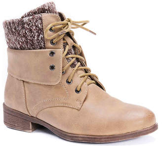 Muk Luks Ambyr Combat Boot - Women's
