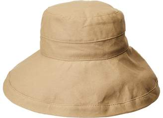 Scala Big Brim Cotton Sun Hat Caps